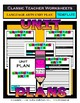 Unit Plan Templates Bundle - Set 1 - Up to 6 Topics - LA Math Science Social