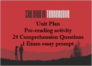 Unit Plan for Kevin Church's Graphic Novel She Died In Terrebonne