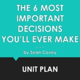 THE 6 MOST IMPORTANT DECISIONS YOU'LL EVER MAKE by Sean Co