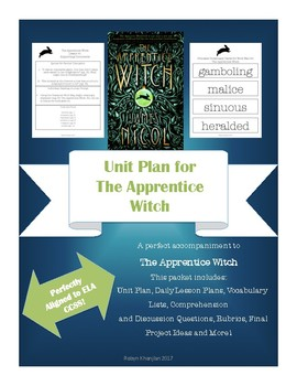 Unit Plan for The Apprentice Witch by James Nicol