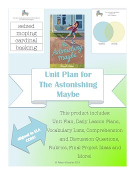 Unit Plan for The Astonishing Maybe by Shaunta Grimes