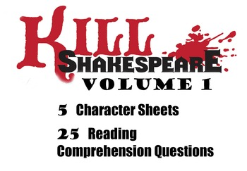 Unit Plan for the Graphic Novel Kill Shakespeare Volume 1