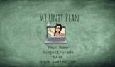 Unit Planner Google Slides