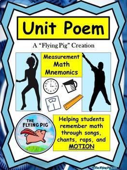 Unit Poem Measurement Math Mnemonic