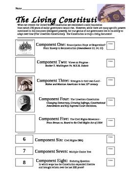 Unit Portfolio 5: Living Constitution