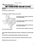 Unit Preview Unit 01 Natural Texas and Its People