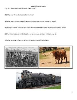 Unit Preview Unit 09 Cotton, Cattle, and Railroads