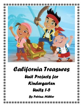 Unit Project Ideas for use with California Treasures Reading Program