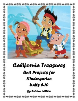 Unit Project Ideas for use with California Treasures Reading Program 2