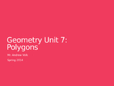 Unit: Quadrilaterals and Polygons (7 lessons)
