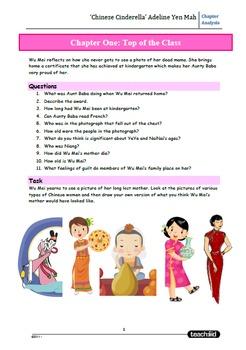 Unit Questions: 'Chinese Cinderella' Adeline Yen Mah