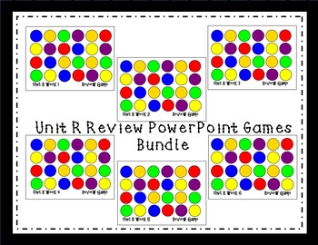 Unit R Interactive Review Games for Smart Notebook. Reading Street. First Grade.