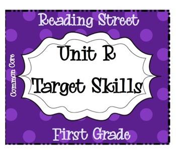 Unit R Target Skills - Reading Street - Common Core - 2011