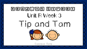 Unit R Week 3 PowerPoint. Tip and Tam. Reading Street. First Grade. Interactive.