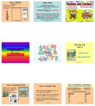 Unit R Week 4 - The Big Top - Lesson Bundle (Versions 2013, 2011, and 2008)