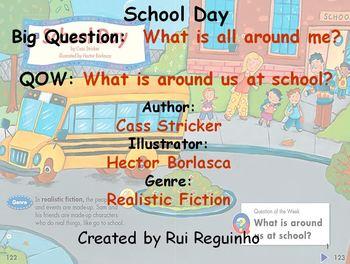 Unit R Week 5 - School Day - Lesson Bundle (Versions 2013,