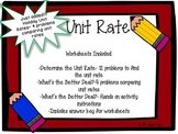 Unit Rate Set