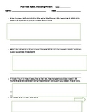 Unit Rate 6th CCSS aligned w/ answer key