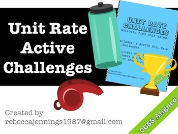 Unit Rate Active Challenges