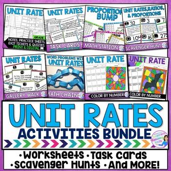 Unit Rates Bundle
