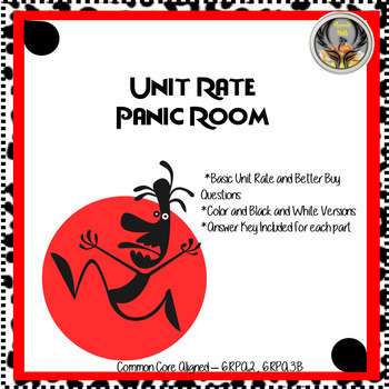 Unit Rate/Better Buy Panic Room
