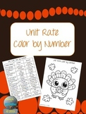 Unit Rate Color by Number