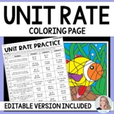 Unit Rate Activity : 6.RP.2
