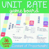 Unit Rate   Constant of Proportionality Activity   7.RP.1