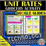 Unit Rate Grocery Coupon Activity FREE Unit Price Distance