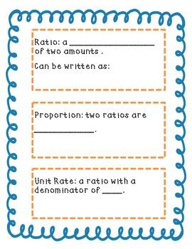 Unit Rate Notes *FREEBIE*