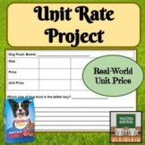 Unit Rate - Projects - Activities - Distance Learning - Mi