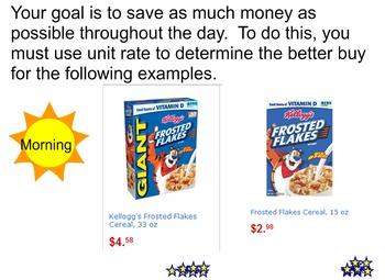 Unit Rate (Smart Lesson)
