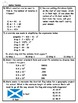 Unit Rate Word Problem Application Practice PLUS Spiral Review