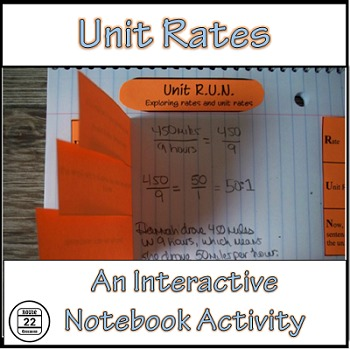 Unit Rates