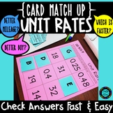 Unit Rates Better Buy Card Match Up Activity