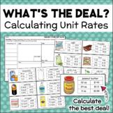 Unit Rates - Calculating Unit Cost - Dividing & Rounding Decimals