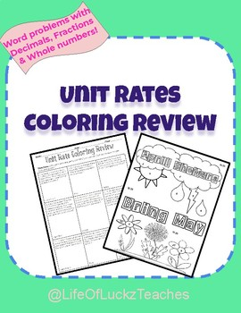 Unit Rates Coloring