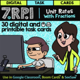 Unit Rates & Complex Fractions for Google Classroom™ & Boo