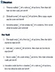 Unit Rates Lesson CCSS 7.RP.A.1 Short Answer and Multiple Choice