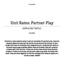 Unit Rates Partner Play