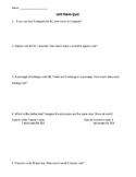 Unit Rates Quiz 1