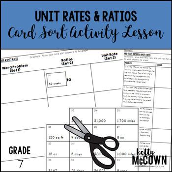 Unit Rates & Ratios