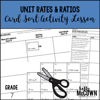 Unit Rates & Ratios