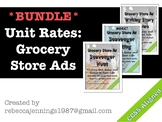 Unit Rates & Ratios: Grocery Store Ads Scavenger Hunt