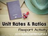 Unit Rates & Ratios - Passport Activity 6.RP.A.3