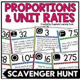 Unit Rates, Ratios, and Proportions Scavenger Hunt
