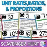 Unit Rates, Ratios, and Proportions Scavenger Hunt
