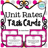Unit Rate Activity - Task Cards: 7.RP.1