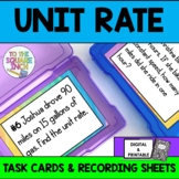 Unit Rates Task Cards