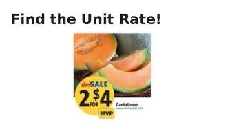 Unit Rates Whiteboard Practice